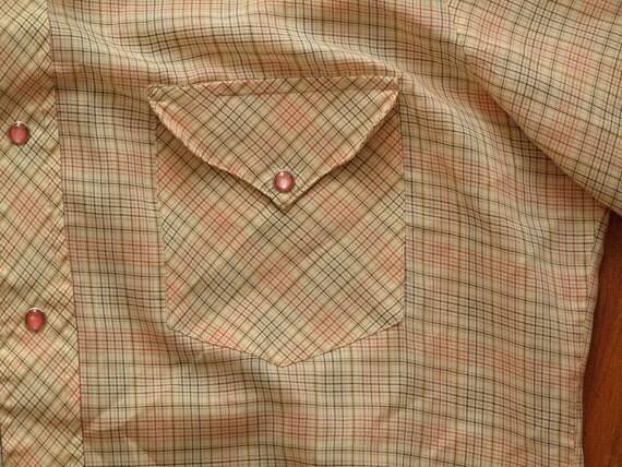 mens vintage western shirt