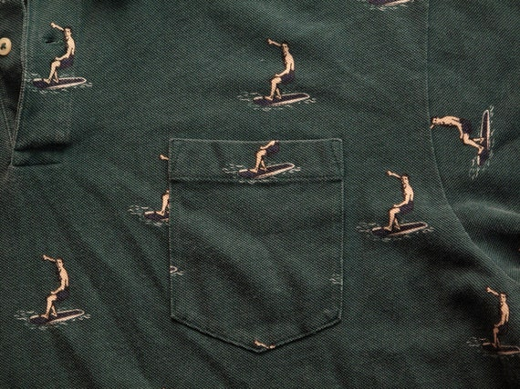 mens vintage ralph lauren polo shirt