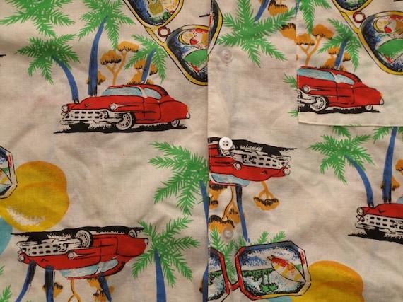 mens vintage hawaiian shirt