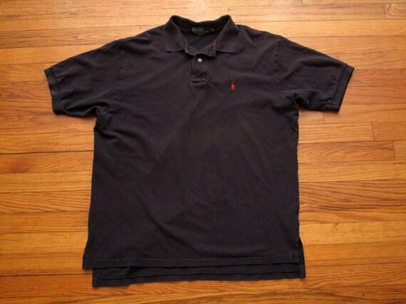 mens vintage polo shirt