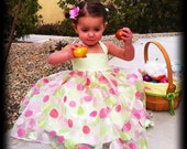 Lace Up Sundress childrens sewing Tutorial PDF Pattern epattern dress for girls and babies INSTANT DOWNLOAD