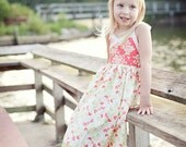 Classic  Halter Sundress Tutorial Pattern PDF INSTANT DOWNLOAD