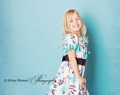 Plum Creek Prairie Girls Dress sewing pattern tutorial PDF childrens clothing for kids babies child INSTANT DOWNLOAD