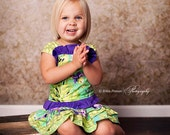 Ruffle Corset Top babies girls sewing pattern tutorial PDF by Tenderfeet Stitches INSTANT DOWNLOAD