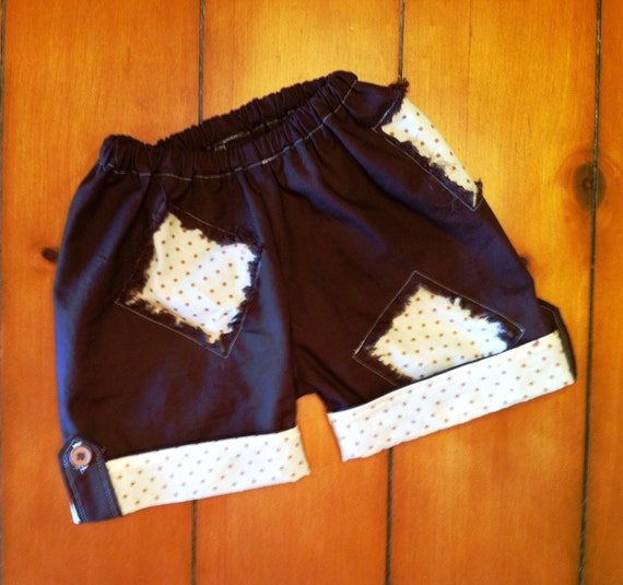 Patch's Impatient Pants Shorts Mid length boys girls clothing sewing PDF tutorial pattern INSTANT DOWNLOAD