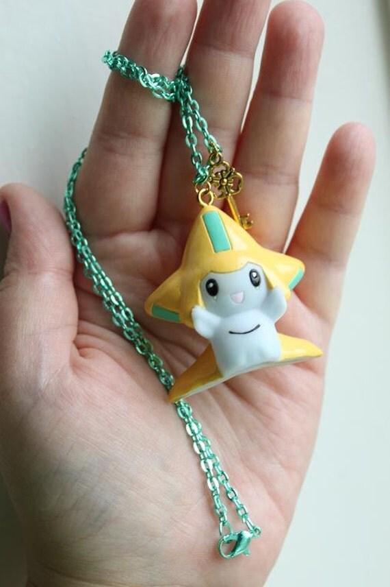 Pokémon Necklace - JIRACHI Toy - Nintendo Nostalgia Necklace