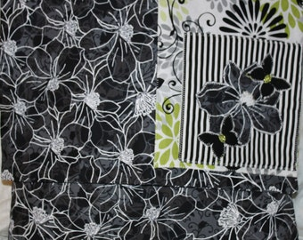 Flowers and Butterflies Decorator Pillow 2