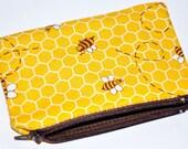 Honey Bee Coin Purse