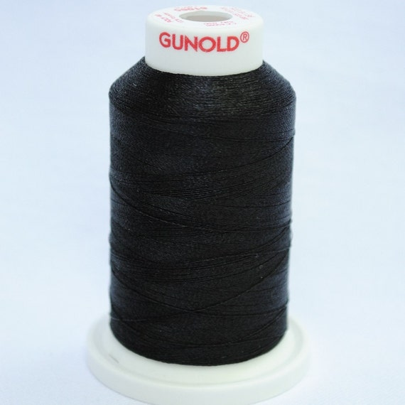 Polyester 40  Machine Embroidery Thread -- 61005 Black