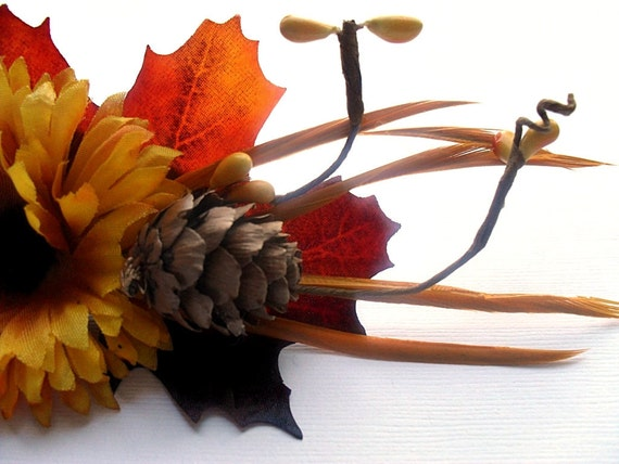 Autumn Hair Clip