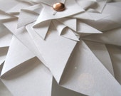Paper Pinwheel in white from Use Your Knoggin