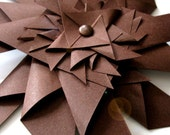 Paper Pinwheel in cocoa from Use Your Knoggin