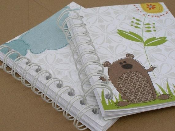 2 Kitschy Animal Notebooks