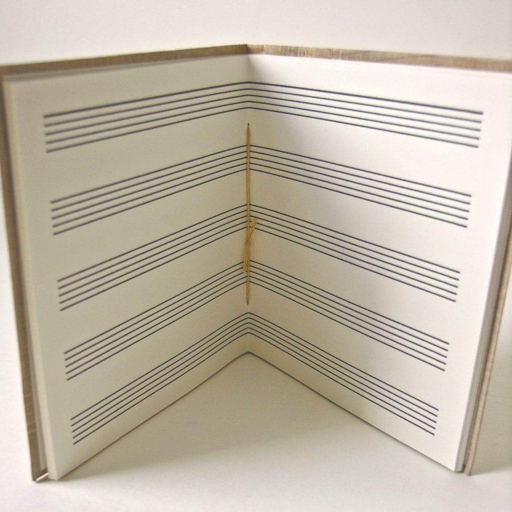 Manuscript Paper Notebook Music Manuscript Notebook