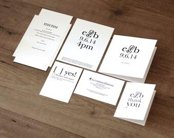 Printable / Storybook Romance Deluxe Wedding Invitation Kit (DIY)