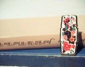Floral Lipstick Mirror