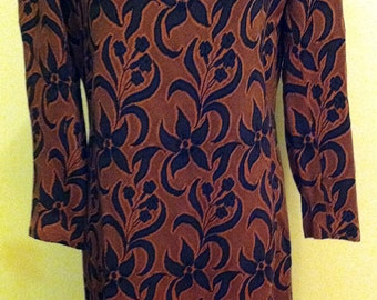1960s Mod Dress Med/Large