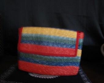Straw Handbag purse