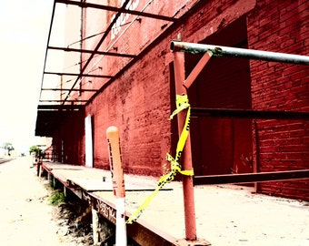 Texas Photography, Fine Art Photography, Urban Photography, Photo Art Print, City Photography, Abandoned Building, Shabby Chic Wall Art
