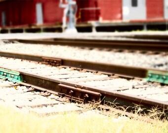 Texas Photography, Train Art Print, Industrial Wall Art, Urban Photography, City Photography, Fine Art Photography
