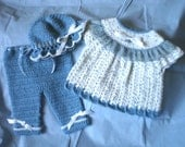 REDUCED 6 to 12 Months Blueberry Dazzle Baby Set