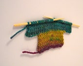 greeting card - handknit little sweater no. 20