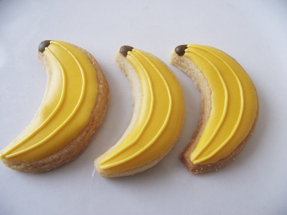 Banana sugar cookies - 3 dozen
