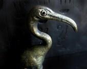 Egyptian Ibis Votive Statue
