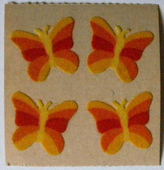 Sandylion Vintage Fuzzy Butterflys Mod