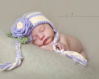 Newborn winter hat, crochet baby hat, newborn hat, winter hat, baby girl hat, newborn photo prop, baby winter hat, baby hat, toddler hat