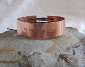 "Copper Avengers bracelet:  ""WE HAVE A Hulk"" Avengers Assemble"