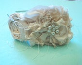 Ruffle Rosette Headband