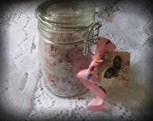 Perfect Love & Perfect Trust Rose Garden Sea Salt  Wicca Wiccan Pagan White Magic