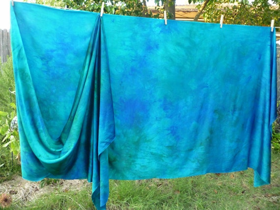 5 Yards Hand-dyed Silk Charmeuse