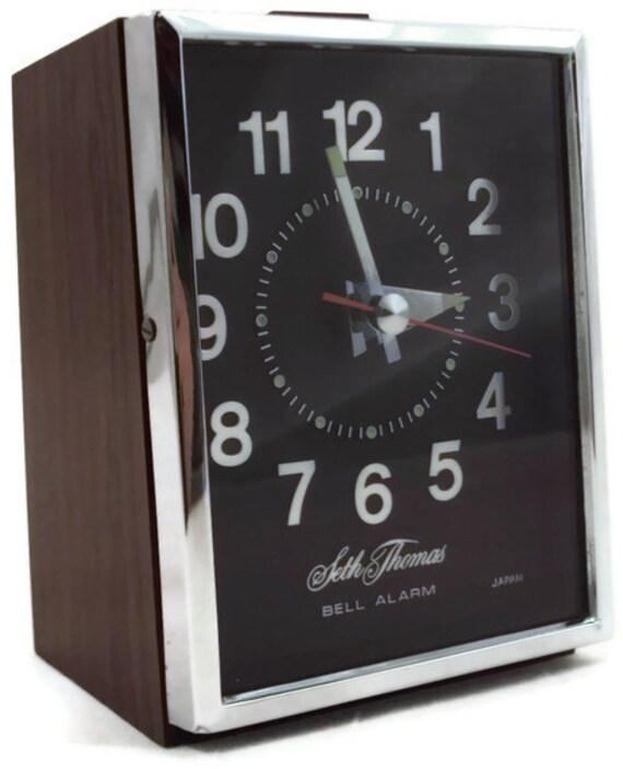 Vintage Seth Thomas Bell Alarm Clock RESERVED for pueshel