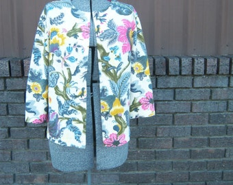 Funky, Fresh, Fabulous Floral Sweater
