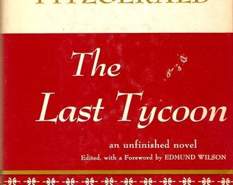 F. Scott Fitzgerald The Last Tycoon HC DJ 1st/2nd Ed.