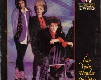 Thompson Twins Lay Your Hands On Me 1985 Vinyl 45 Picture Sleeve