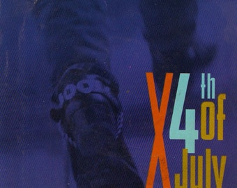 X 4th of July / Positively 4th Street 1987 45 rpm w Picture Sleeve Non-LP B-Side