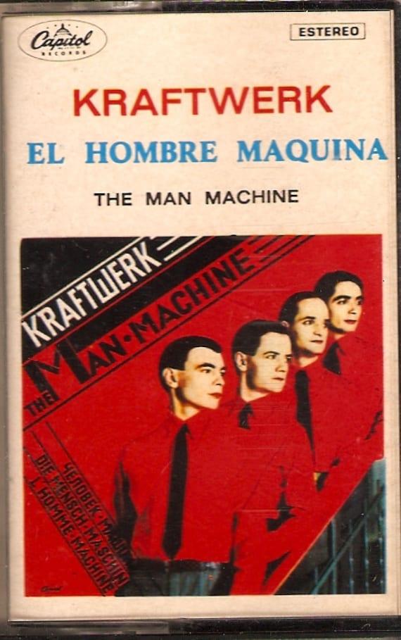 Kraftwerk El Hombre Maquina (The Man Machine) Spanish Cassette