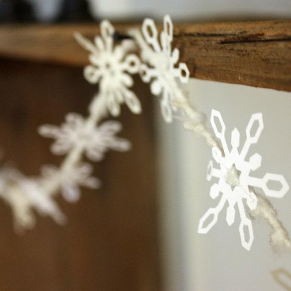 Snowflake Garland - Paper