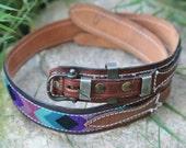 Vintage Embroidered Belt Size 28 to 32