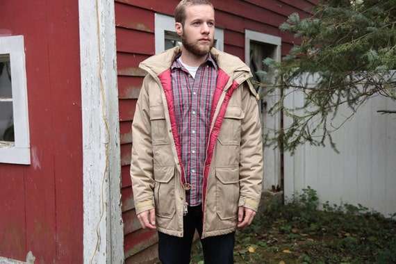 Vintage Woolrich Parka Mens Medium