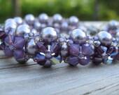 Lavender Love & Hugs bracelet