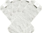 15 Pack Heavy Duty Super Absorbent DOOPSY Bamboo Terry Cloth Diaper Soakers Inserts 3 Layers per Insert