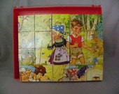 Vintage German Block Puzzle
