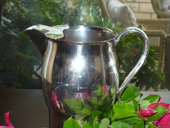 Antique Rogers Silver Pitcher 1883