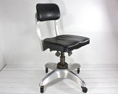 RESERVED FOR ANNE Vintage Good Form Original Office Swivel Chair