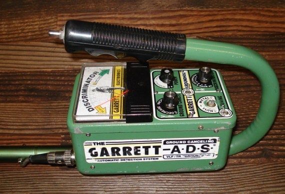 Items Similar To Vintage Garrett Groundhog Metal Detector