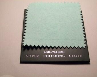 Silver Polishing Cloth with Anti Tarnish Agent